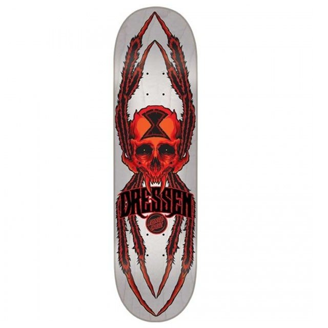 SHAPE SANTA CRUZ DRESSEN 8.6 WIDOW SKULL PRO 21216