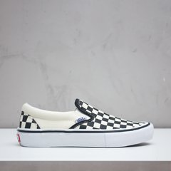 TÊNIS VANS SLIP ON PRO CHECKERBOARD
