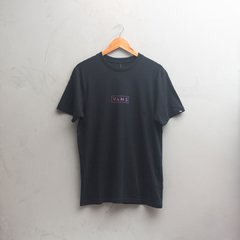 CAMISETA VANS EASY BOX BLACK FADE