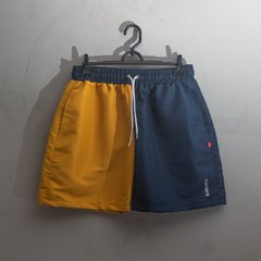 SHORTS BLAZE BI COLOR BLUE YELLOW