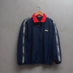 JAQUETA HIGH ZIPPED JACKET STRIPES NAVY WB013.01