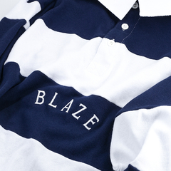 CAMISETA POLO BLAZE SUPPLY STRIPES MARINE na internet
