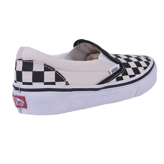 TENIS VANS SLIP ON CHECKERBOARD WHITE VNB00EYEBWW