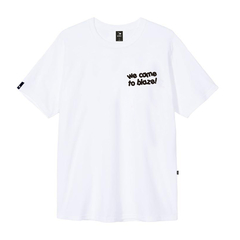 CAMISETA BLAZE SUPPLY WE CAME TO BLAZE WHITE - comprar online