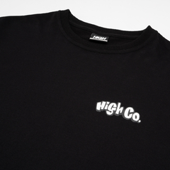 CAMISETA HIGH BEACH RAT BLACK - O.W.L Store