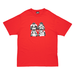 CAMISETA HIGH MONKEYS RED