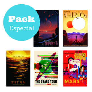 Pack 5 Imanes Decorativos
