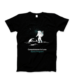 Remera Apollo Program - OINK Tienda Espacial