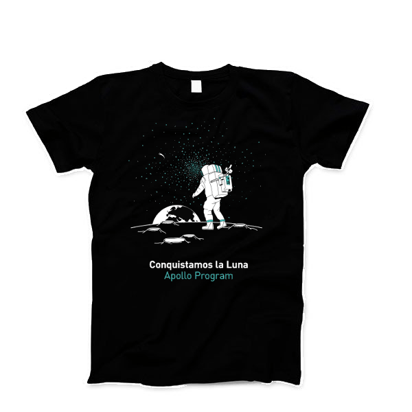 Remera Apollo Program - Oink