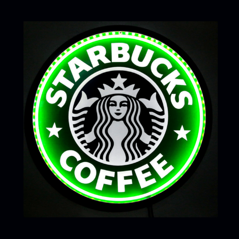 LUMINOSO STARBUCKS-LED- 44 cm