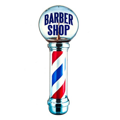 PLACA BARBER SHOP - 68X25 cm - comprar online