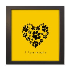 QUADRO I LOVE PET
