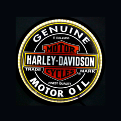 LUMINOSO HARLEY DAVIDSON LED 44 cm