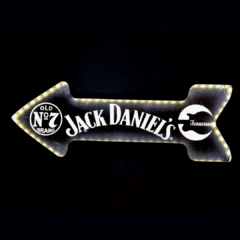 LUMINOSO JACK LED - 49x18 cm