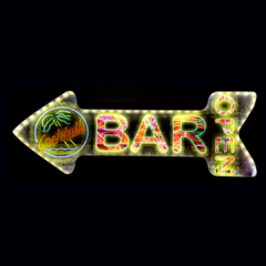 LUMINOSO BAR - LED- 49x18 cm