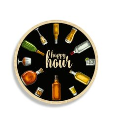 PLACA  HAPPY HOUR  30 cm