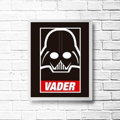 PLACA DARTH VADER na internet