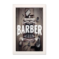PLACA BARBER STREET na internet