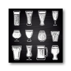 PLACA BEER GLASSES - comprar online
