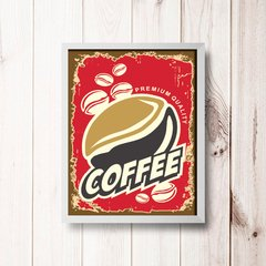 PLACA COFFEE RED - comprar online