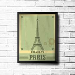PLACA TRAVEL PARIS - loja online