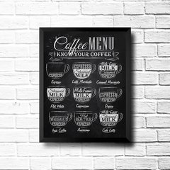PLACA COFFEE  P & B - comprar online