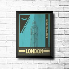 Imagem do PLACA LONDON BLUE