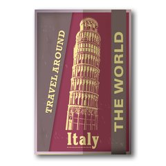 PLACA TRAVEL ITALY - comprar online