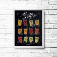 PLACA JUICE MENU na internet