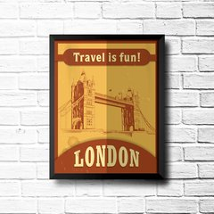 PLACA TRAVEL LONDON na internet