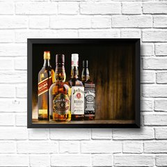 PLACA KIT WHISKEY - comprar online