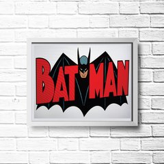 PLACA BATMAN RED na internet
