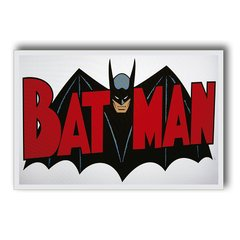 PLACA BATMAN RED - comprar online