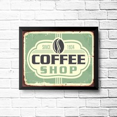 PLACA COFFEE SINCE - comprar online