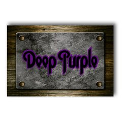 PLACA DEEP PUPLE - comprar online