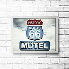 PLACA HISTORIC ROUTE 66 na internet