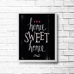 PLACA HOME SWEET HOME na internet