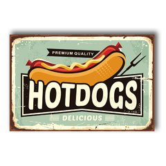 PLACA HOT DOG 2