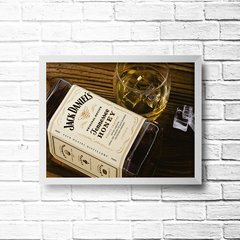 PLACA JACK HONEY TENNESSEE - Art Print Decorações