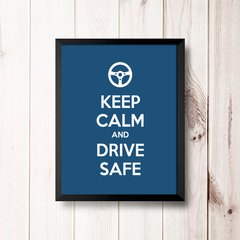 PLACA KEEP CALM AND DRIVE SAFE na internet
