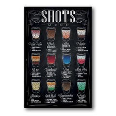 PLACA SHOTS DRINKS