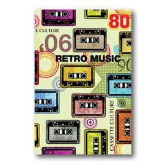 PLACA RETRO MUSIC