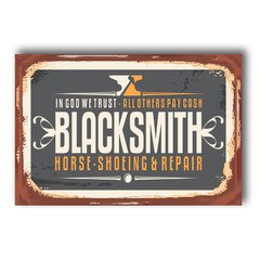 PLACA BLACKSMITH