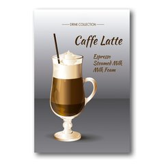 PLACA CAFFE LATTE