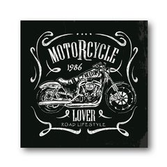 PLACA MOTORCYCLE LOVER
