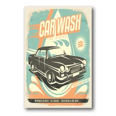 PLACA CAR WASH