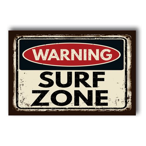 PLACA SURF ZONE