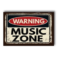 PLACA MUSIC ZONE