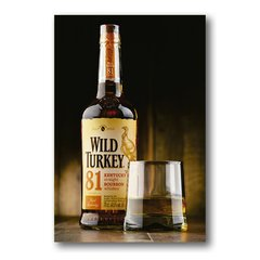 PLACA WILD TURKEY - comprar online