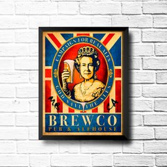PLACA GOD SAVE THE ALES - comprar online
